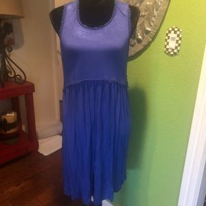 NWT boutique sleeveless high low dress
